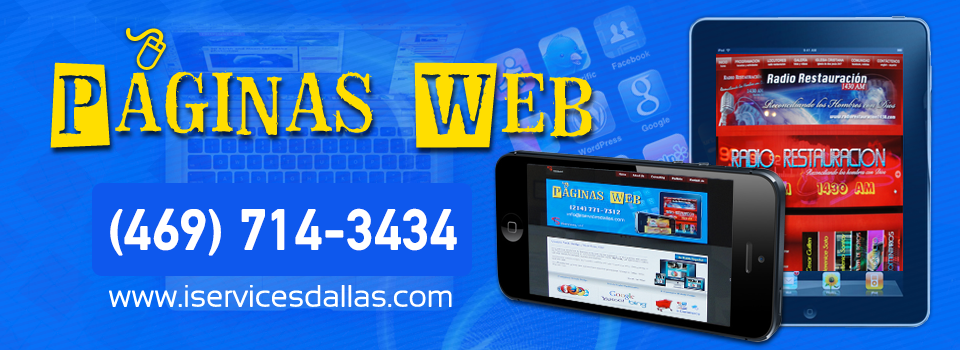 Search Engine Optimization Paginas Web / iServices, LLC