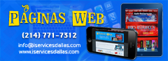 Paginas web / internet en Dallas