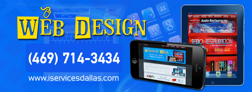 Web Design Paginas web / iServices,LLC